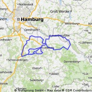 Lüneburg Ost-West / Die Magische 8 mit 50km warm-Up