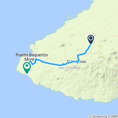 Puerto Baquerizo Moreno Bicycle ride Part 1