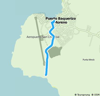 Puerto Baquerizo Moreno Bicycle ride Part 2