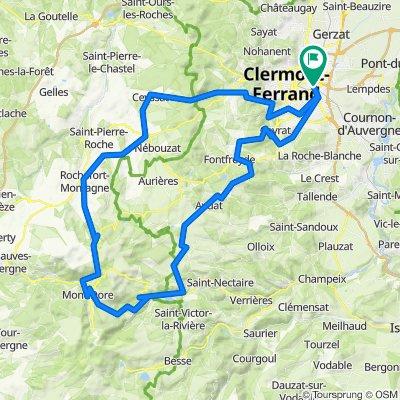 Boucle Mont Dore 120km 2500m