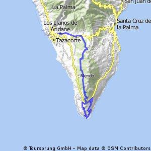 16 Los Llanos - Ruta Volcanes - Faro Teneguía - Los Canarios