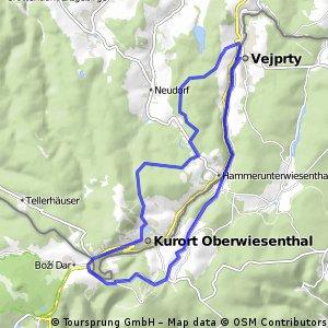 Vejprty-Klinovec-Oberwiesenthal-Bärenstein