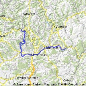 PC16 de la Sûre Bourscheid naar Bollendorf