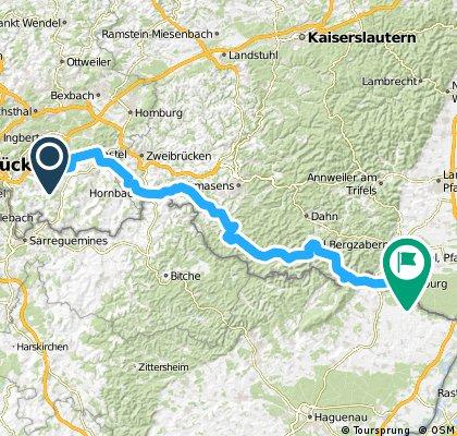 Nr. 2Heckendalheim-Steinfeld/Pfalz Hügelig