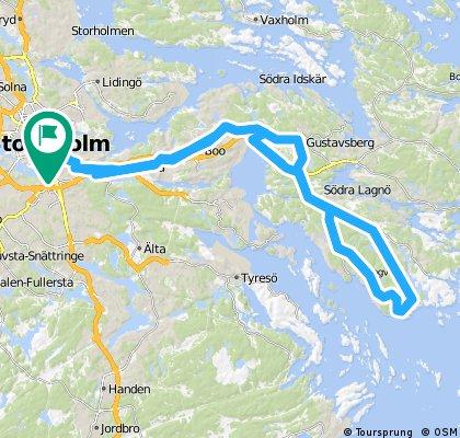 Slussen-Ingarö t/r