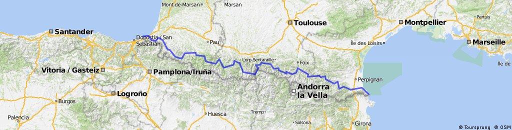 Raid Pyrenees