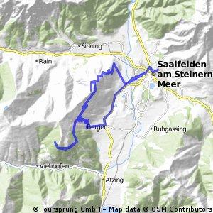 Jahnhütte - Aussichtsturm von Saalfelden