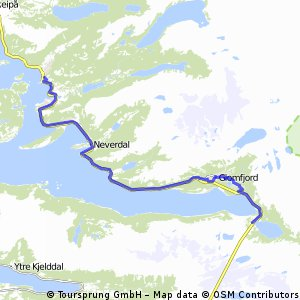 Svartistunnelen-Ørnes (L-N ruta)