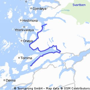 Nesna-Oldervika (L-N ruta)