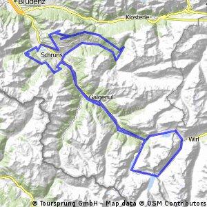 Montafron Mountainbike Marathon M3 - extrem