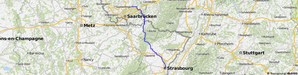Landsweiler-Reden-Straßburg