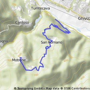 Morone climb north of Lucca