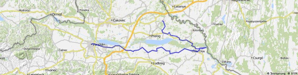 Gorican - Legrad - Varazdin