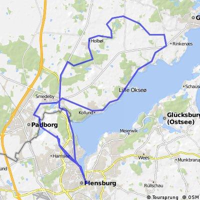 RR Runde nach Norden - 54 km