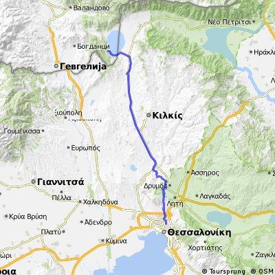 Stare Dorjan to thessaloniki