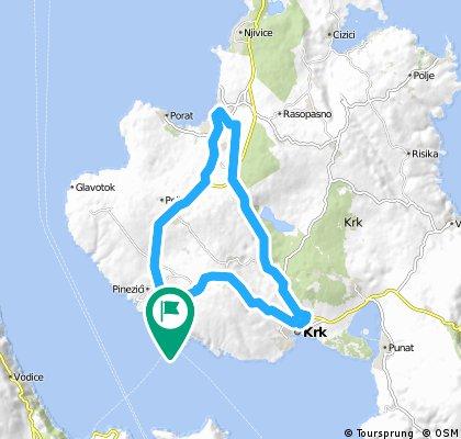 #Eurobiketrip ziua 7 - partea B, Zadar to Pula section