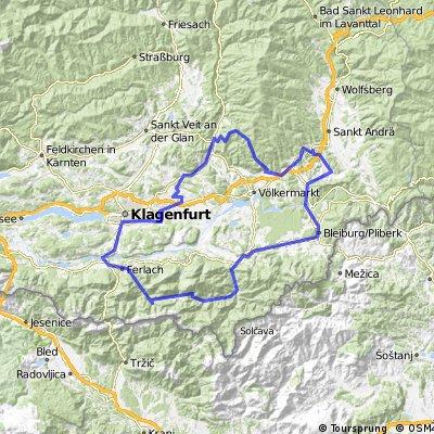 4 Berge Tour tatsächlich gefahren