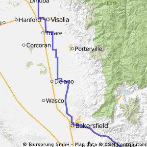 Wineland to Tehachapi