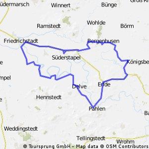 Tour durch Stapelholm
