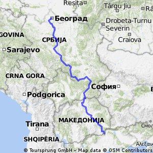 Beograd to Stare doran