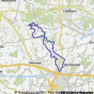 Bienrode - Maßel - Leiferde Wohlenberg - Hillerse - Rethen - Bienrode