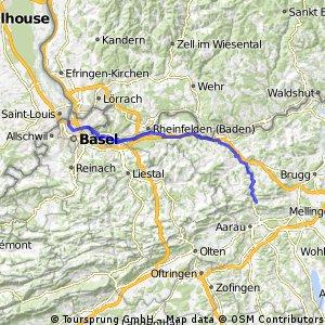 Staffelegg - Basel