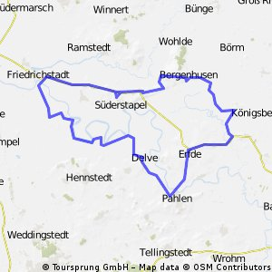 Tour durch Stapelholm CLONED FROM ROUTE 305486