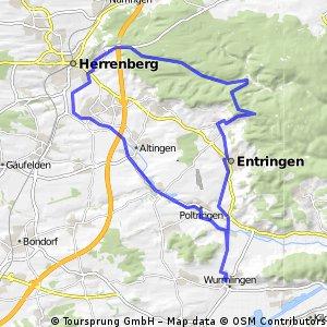 Ammertal - Herrenberg - Schönbuch