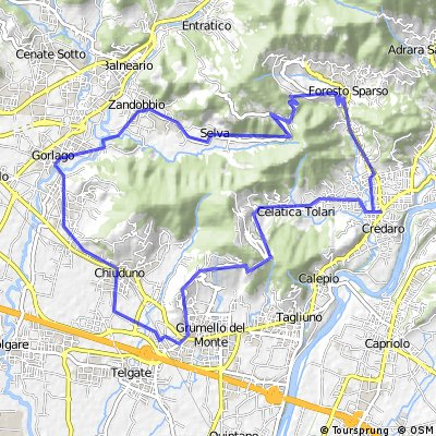 Villongo - Gandosso - Foresto Sparso