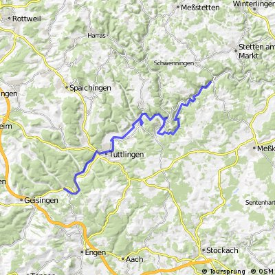 Tag 2: Hausen - Donaueschingen