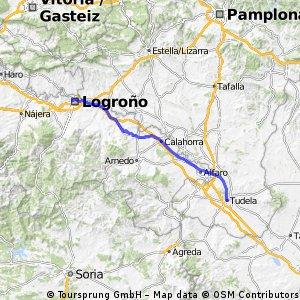 Etappe 08: Tudela - Logrono