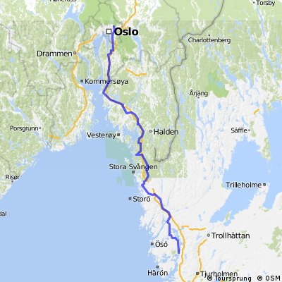 Oslo - Svanesund