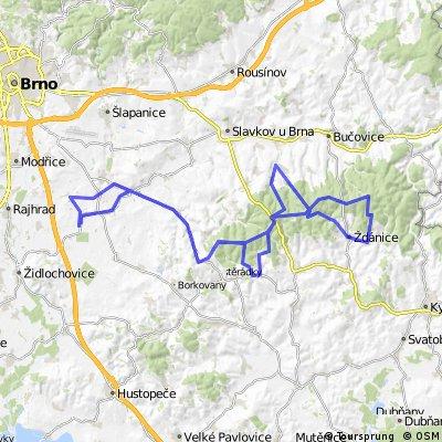 Menin-Bosovicka Slapka (61km bike) - Menin