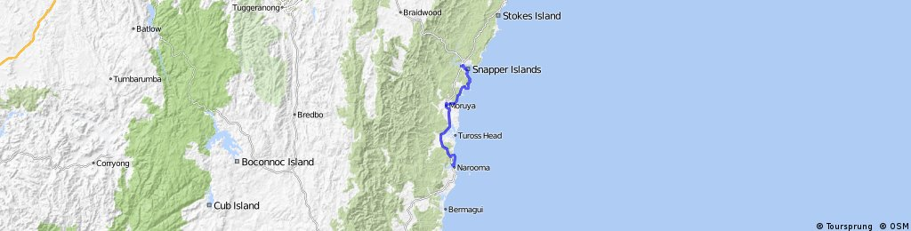 #125 Narooma to Batemans Bay