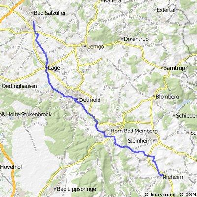 Kyll - Weser Etappe 10 Nieheim - Schötmar