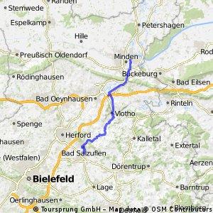 Kyll -Weser Etappe 11 Schötmar - Minden