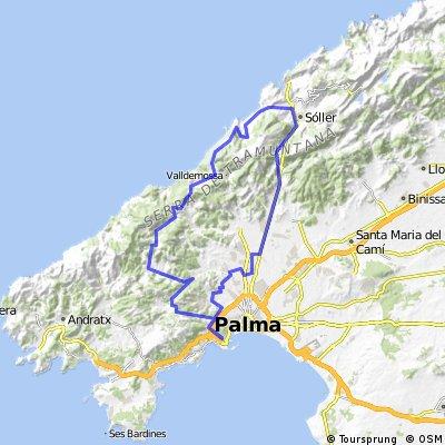 100km Palma - Soller - Deía - Valdemossa