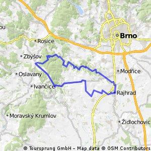 Rajhrad Hlína 51km