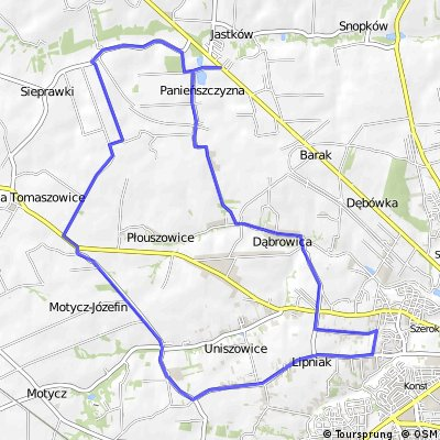 Jastków,Uniszowice ,Jastków