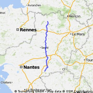 Mayenne to Vezins