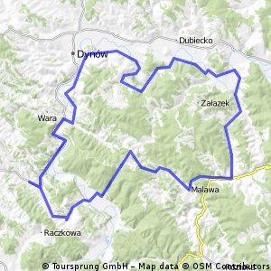 2015_05_31 Dydnia - Krzywe - Witryłów - Ulucz - Borownica - Lipa - Malawa - Stara Bircza - Bircza - Nowa Wieś - Sufczyna - Brzuska - Bachów - Wybrzeże - Słonne