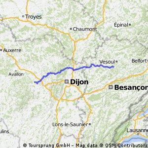 E3-2 Vesoul-Saulieu 173km 1620HM