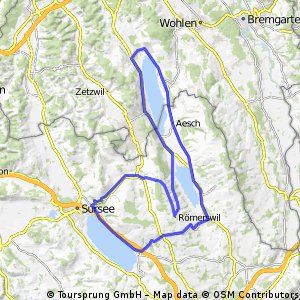 Hallwilersee - Baldeggersee - Sempachersee