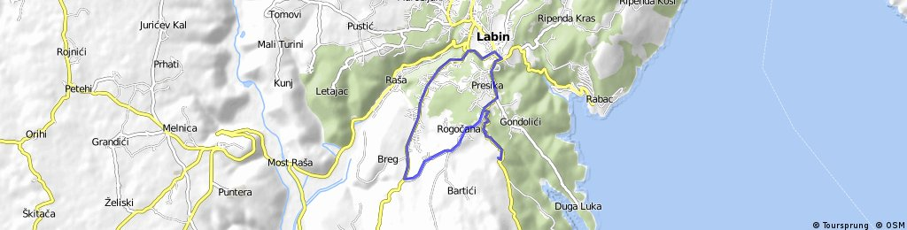 Majal - Labin - Salakovci - Majal