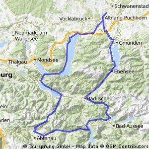 2-Tagestour (6 Seen, 205 km, 2550 hm)