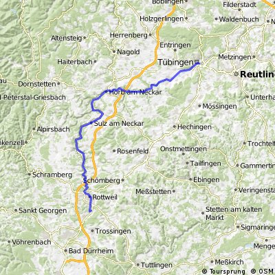 Letzte Etappe nach Laufen / Rottweil !!