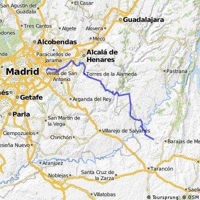 Etapa 1 Madrid - Algarga