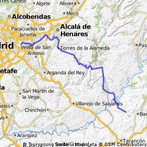 Etapa 1 Coslada - Barajas de Melo