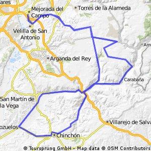Mejorada del Campo (136km)