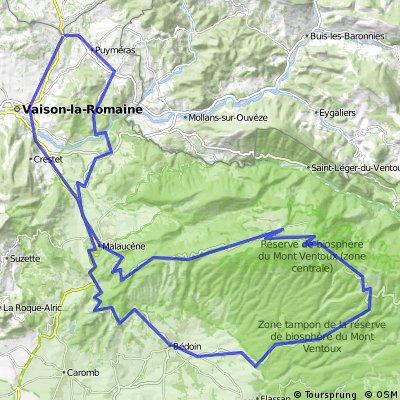 Puymeras - Mont Ventoux - Puymeras